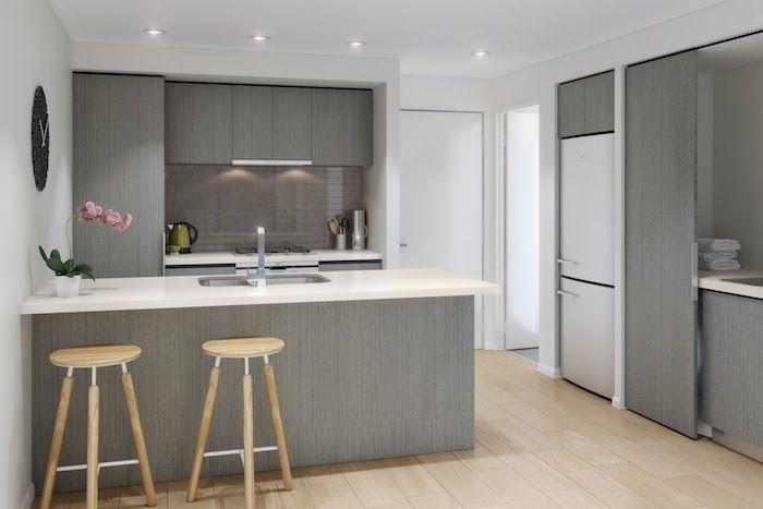 ide dcoration et relooking cuisine tendance image description modele de cuisine moderne quipe simple avec meubles