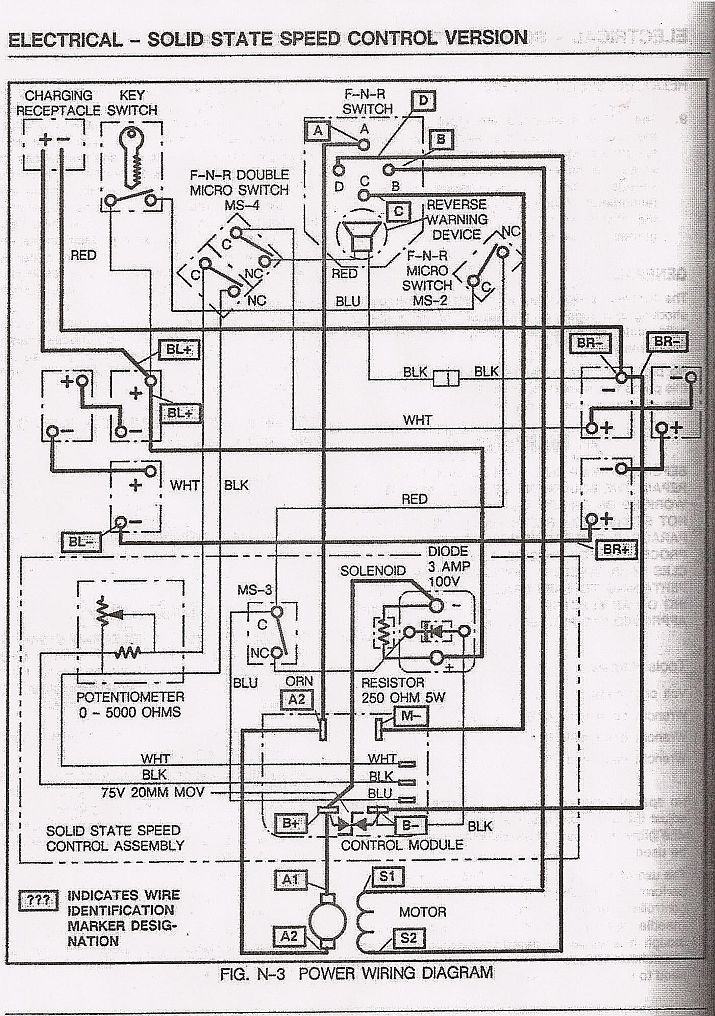 Yamaha Gas Golf Cart Wiring Diagram from i.pinimg.com