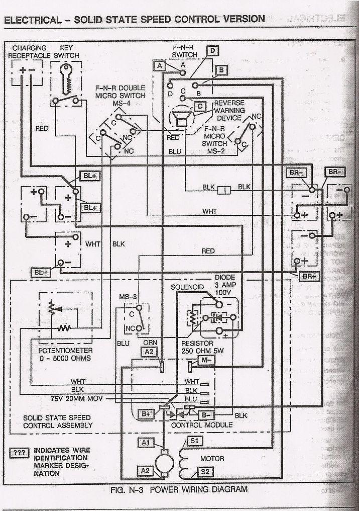 ez go gas wiring diagram for bt socket engine woho ortholinc de basic ezgo electric golf cart and manuals pinterest rh com parts