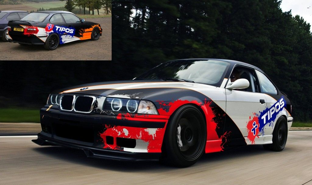 Durci Design Bmw E36 Drift Livery With Images