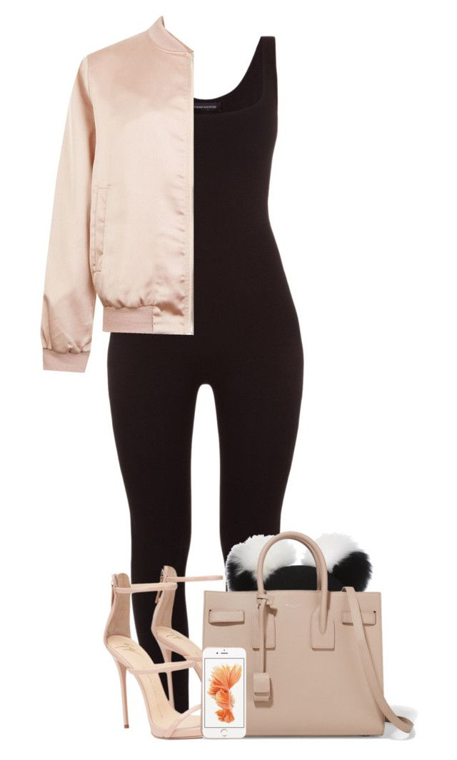 """"""":: 2/27/16 ::"""" by camgueyana ❤ liked on Polyvore featuring Charlotte Simone, Yves Saint Laurent and Cameo Rose"""
