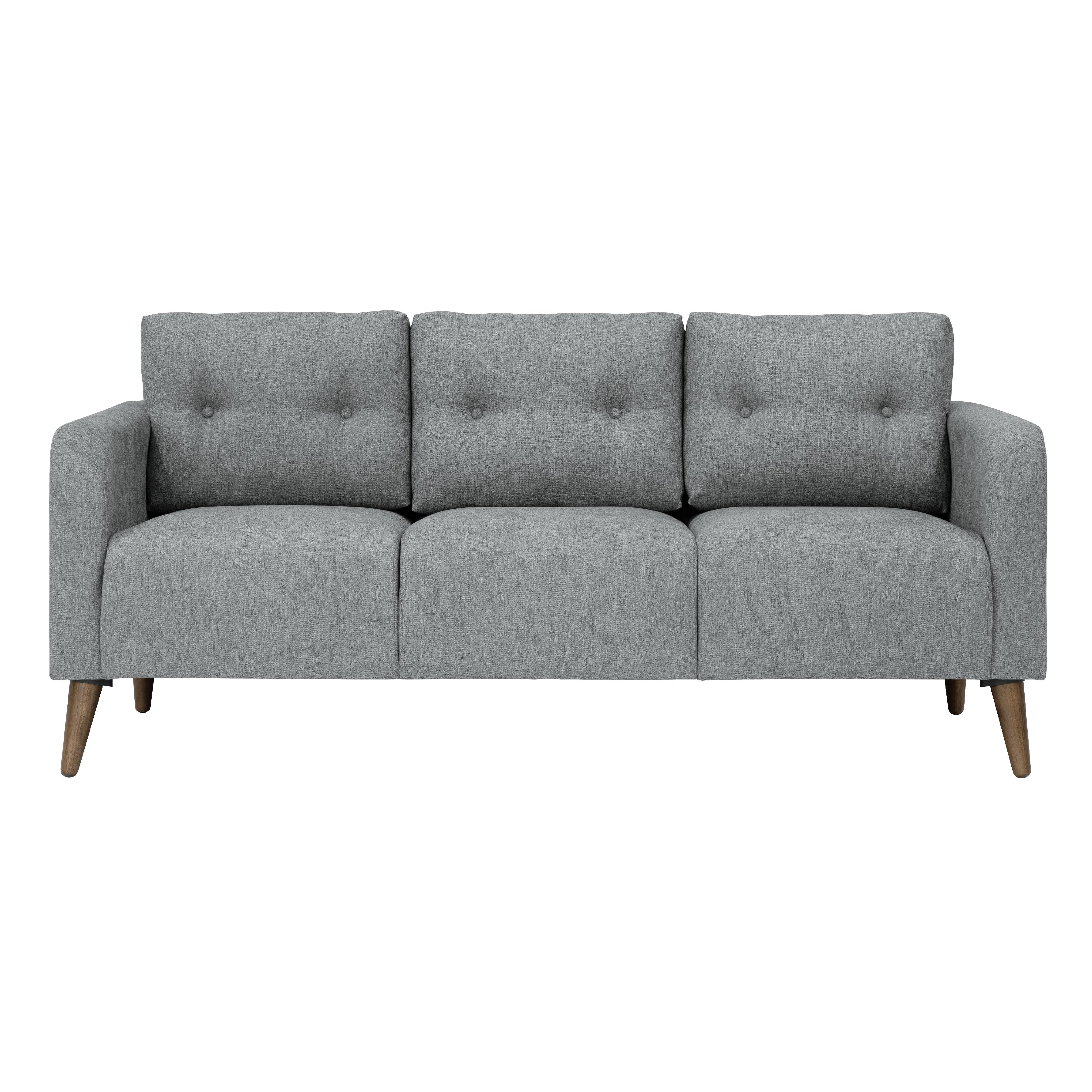 Hipvan Bennett 3 Seater Sofa Slate 3 Seater Sofa Sofa