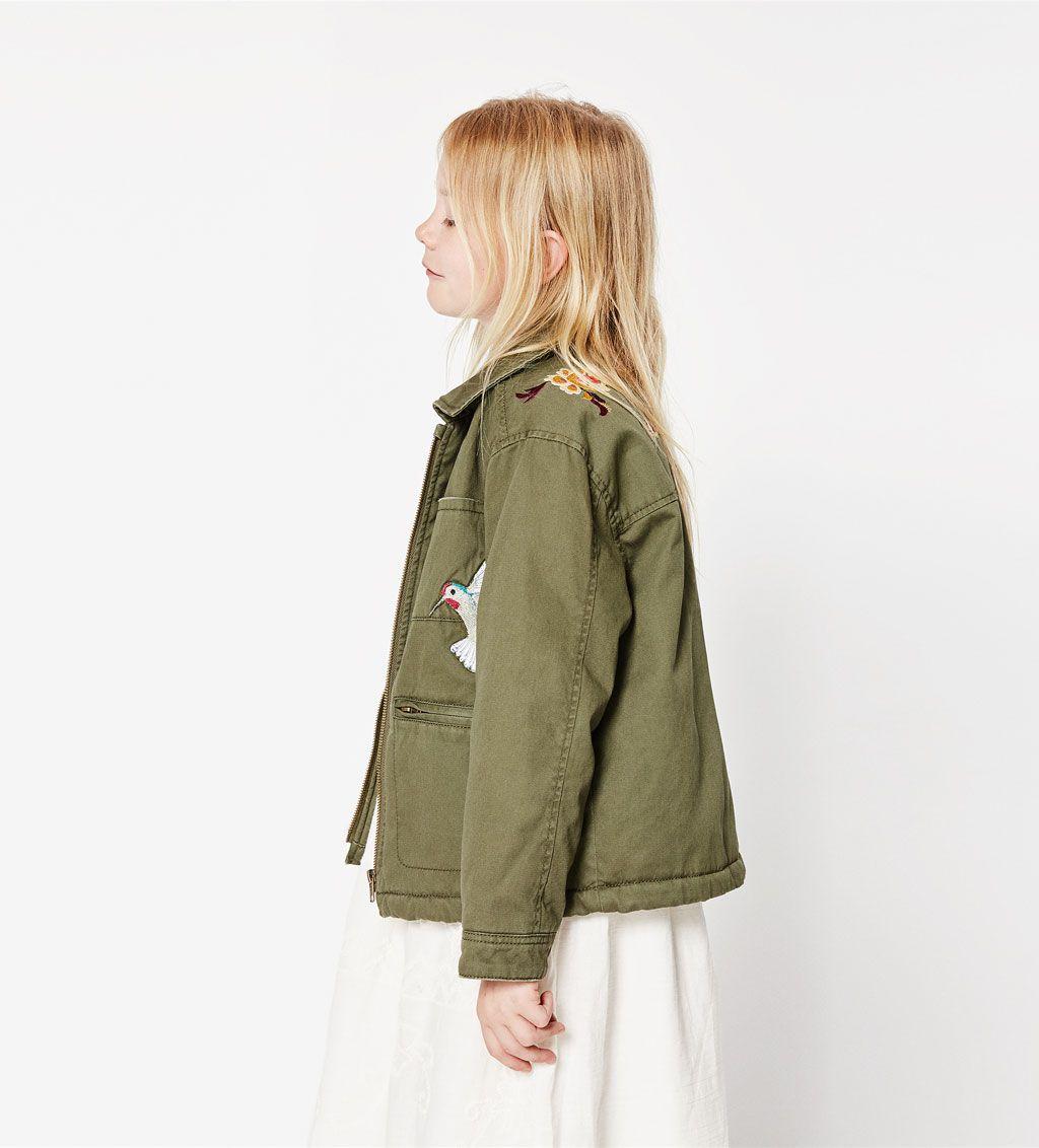 Jolt Embroidered Fleece Lined Denim Jacket - Women's Coats & Jackets