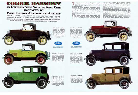 Ford Brochure  Ford Car Brochures    Brochures