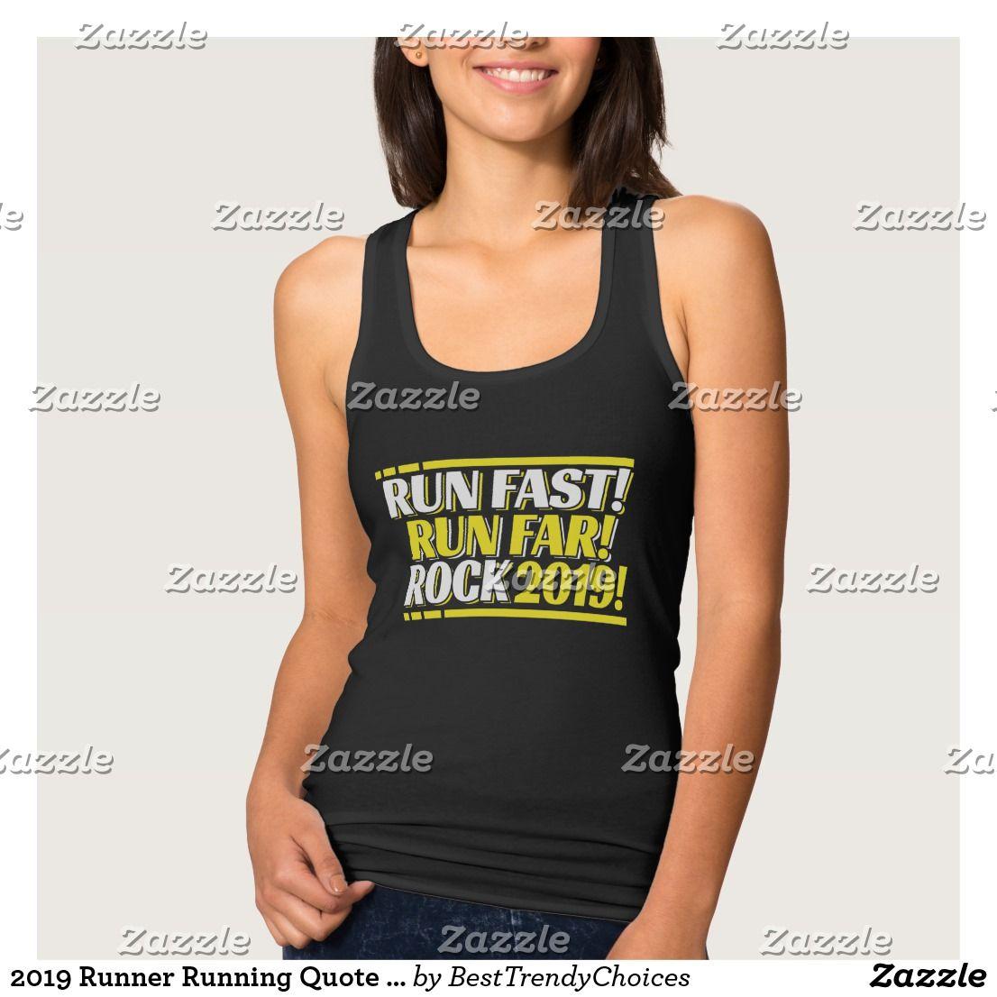 24ecd456678748 2019 Runner Running Quote Gift Idea - Tank Top Best Running Gear