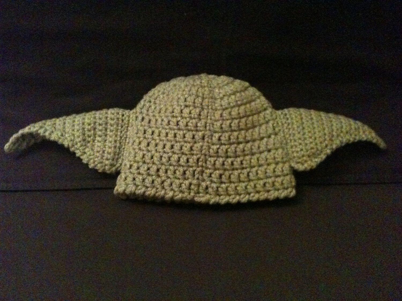 Baby Yoda Hat Preemie Newborn 36 Month by BeesBootiesAndMore, $22.00 ...