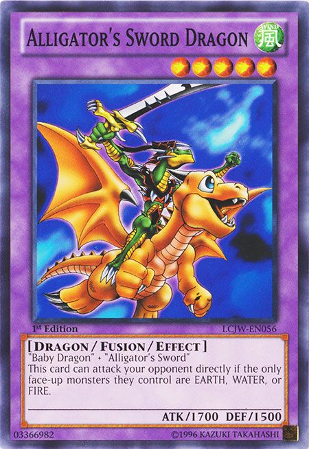 Alligator's sword dragon