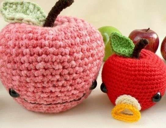 Frutas a crochet: fotos ideas para tejer - Frutas tejidas a ganchillo