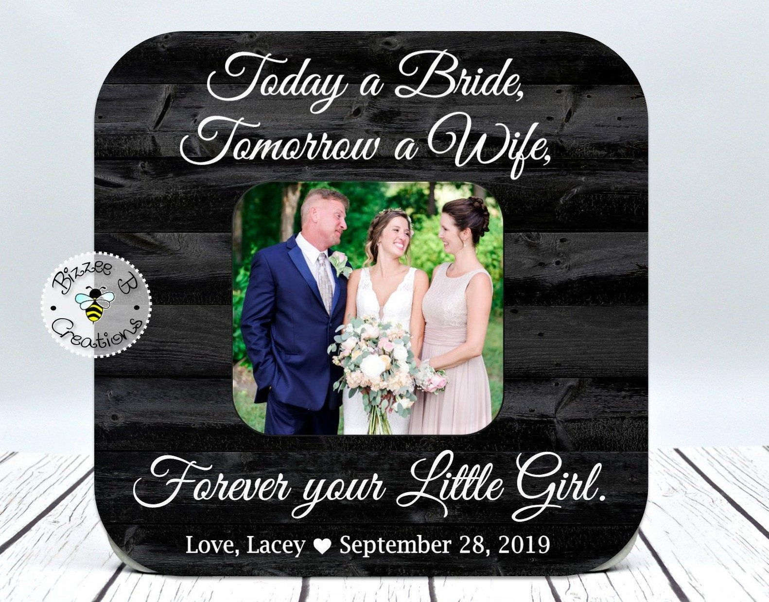Gift For Parents Of The Bride Wedding Thank You Gift Rehearsal