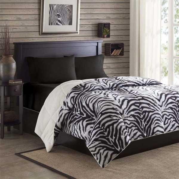 Zebra Room Prints And Decoration Patterns Personalizing Modern Bedroom