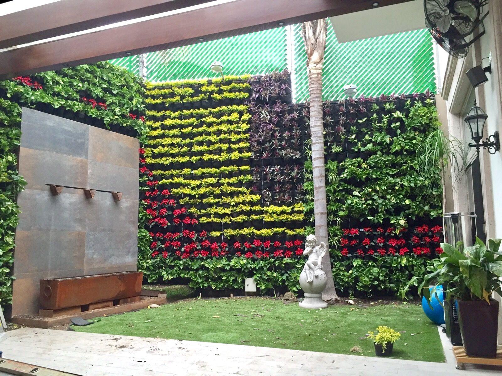proyectos jardines verticales huichol