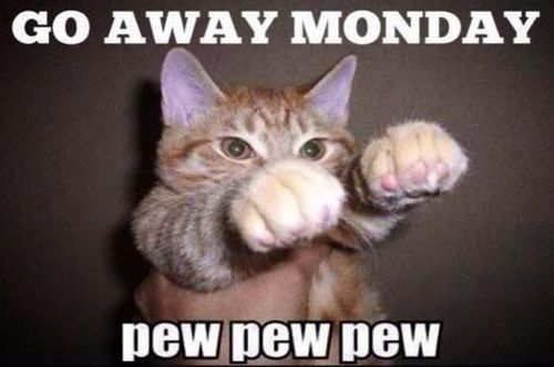 Go away Monday! - http://www.dravenstales.ch/go-away-monday/