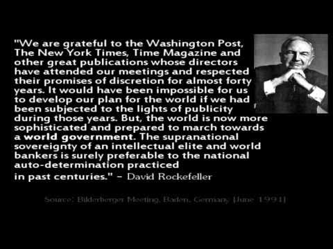 Image result for david rockefeller quote about the media""