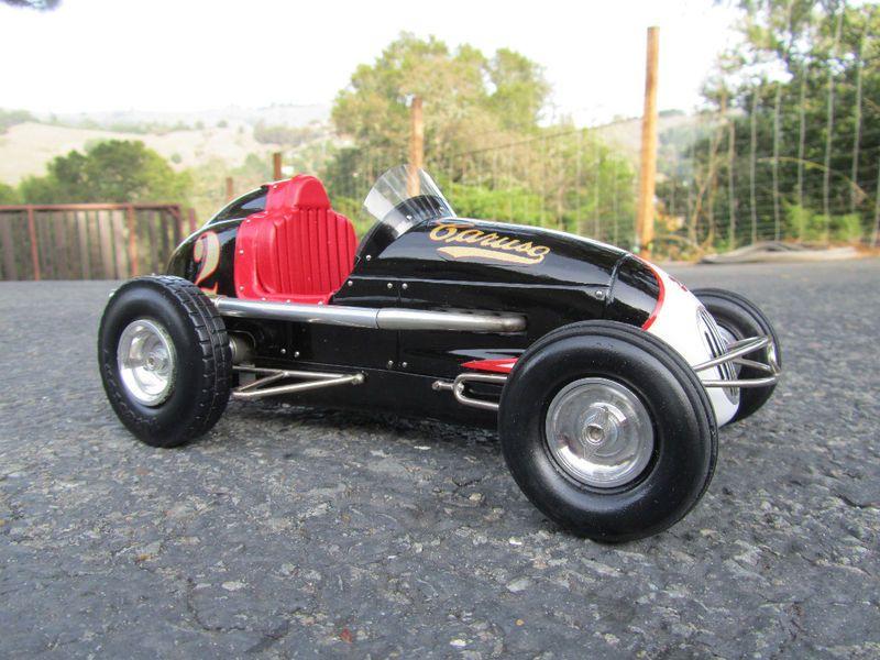 Keller Kraft Kurtis Midget Race Car Tether Car Vintage Race Car Tether Car Sprint Cars
