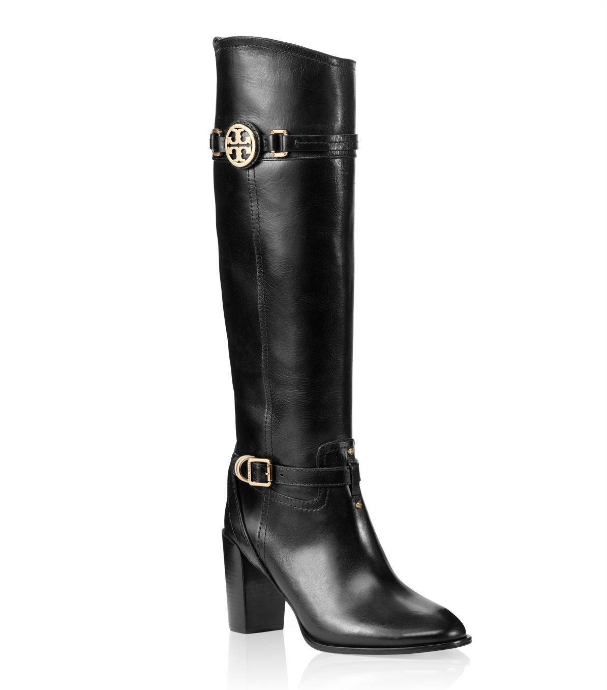 8e4a440840b9 italy tory burch calista leather riding boot brown 65122 26379