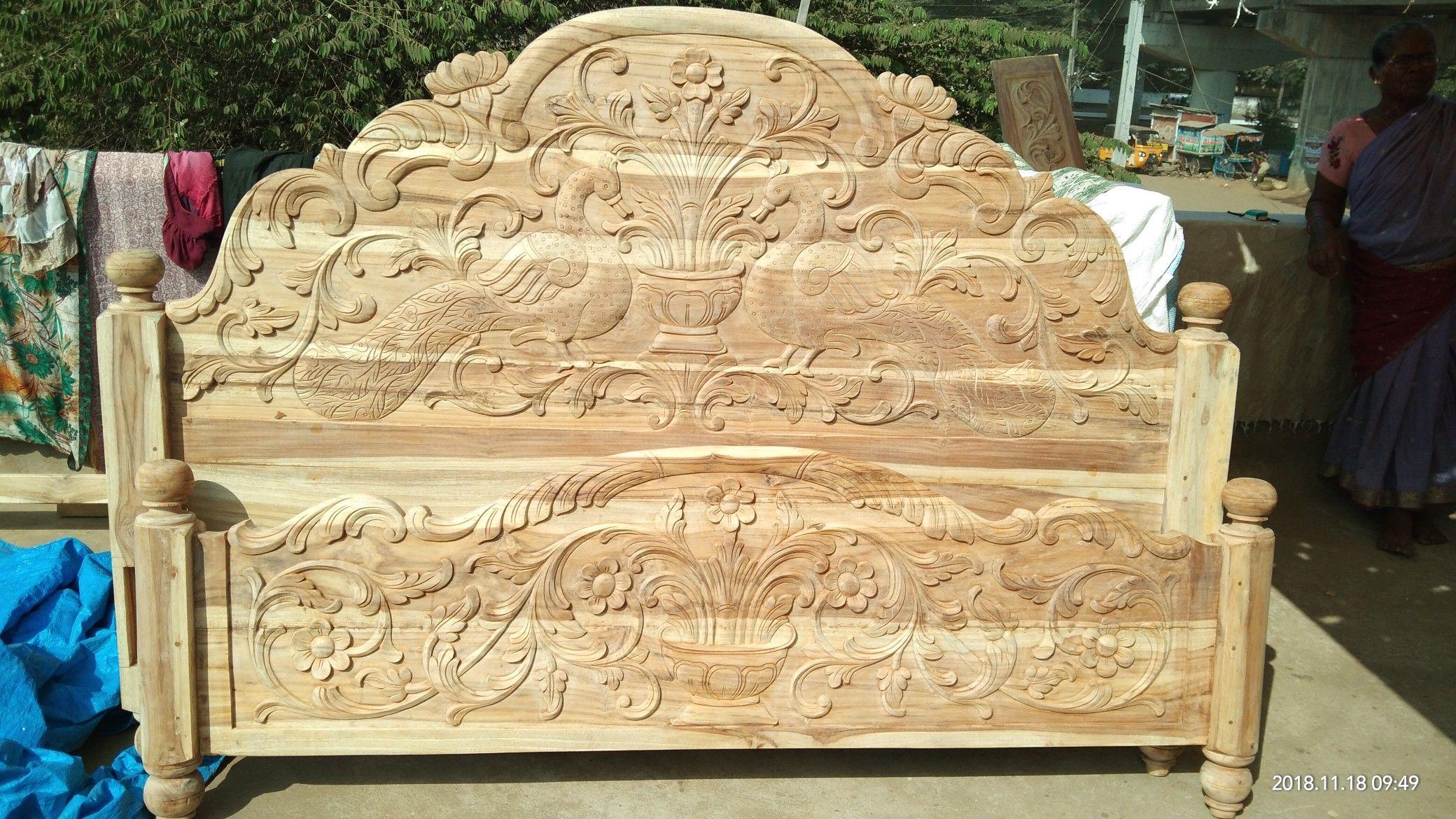 Pin By Raju Jangid On Ballanki Santhoshkumar Wooden Bed Design Bed Furniture Design Wooden Sofa Designs