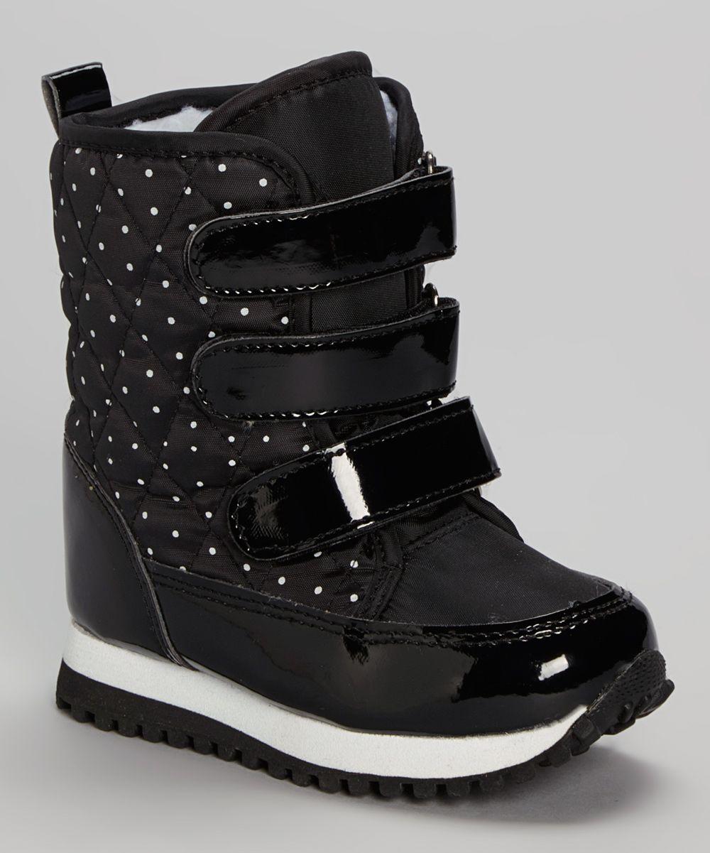 YOOPi Black Triple Strap Boot | zulily