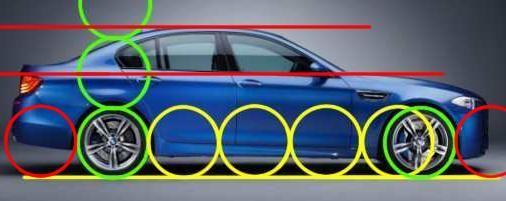 Motorsketch: Car Proportions | Disenos de unas