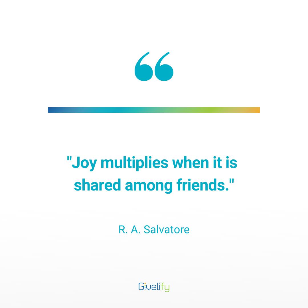 Generosity Joy Quotes Joy Quotes Inspirational Words Joy