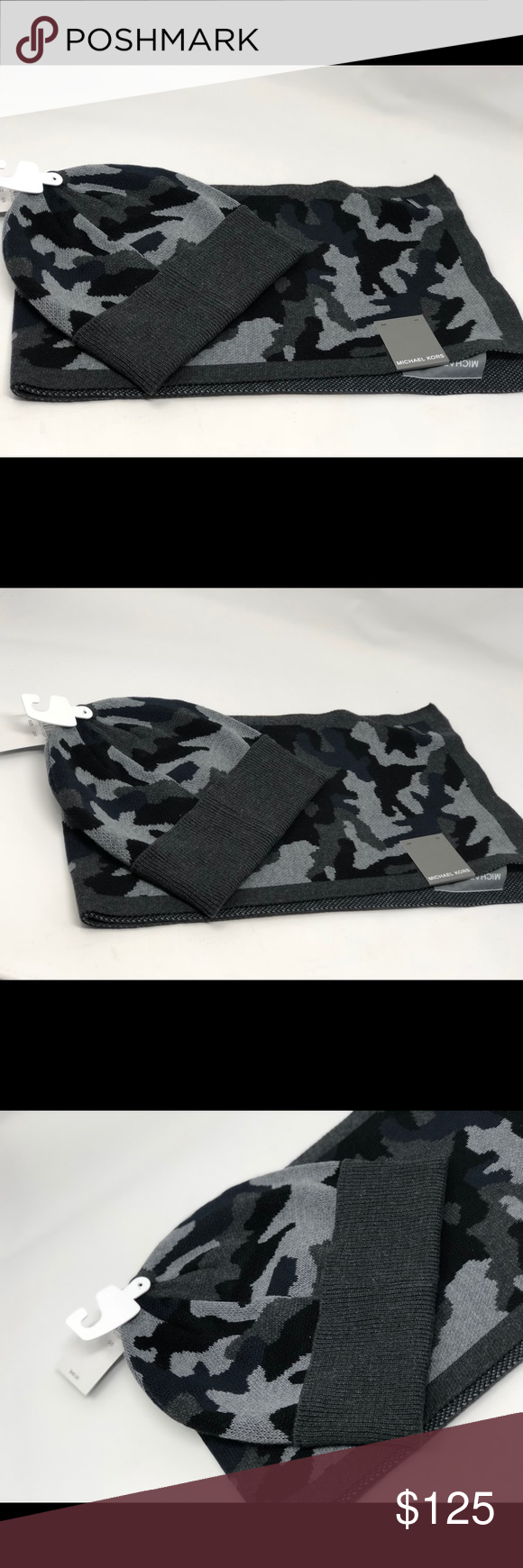 f245b6f859d Michael kors camouflage scarf and hat set for men NWT Michael Kors  Accessories Scarves