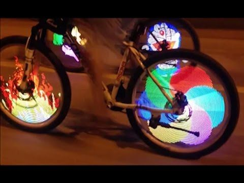 Cycling LED Bike Bicycle Wheel Tire Spoke Light Kit DIY Programmable Lamp Useful