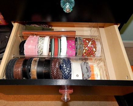 Marvelous How To Organize Belts #belts #organize