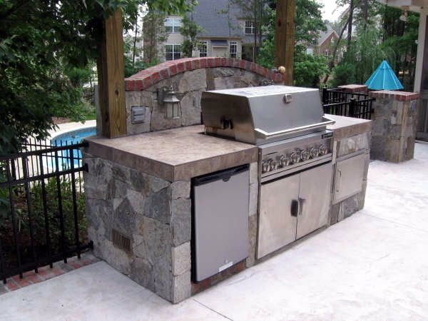small outdoor kitchen space jacki mallick designs llc garden rooms pinterest small outdoor kitchens outdoor kitchen design and kitchens - Outdoor Kitchen Ideas For Small Spaces