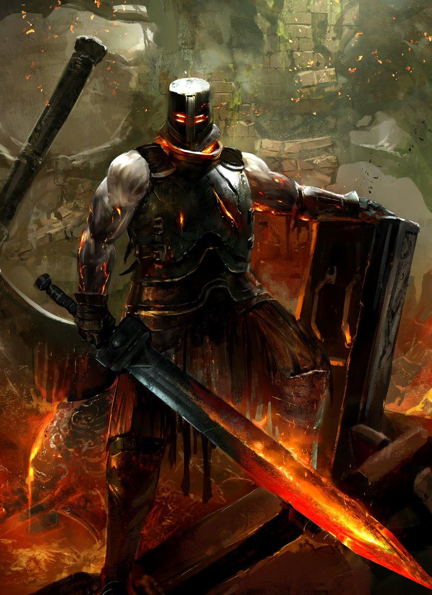 Black Iron Set From The First Dark Souls A Personal Favorite Of
