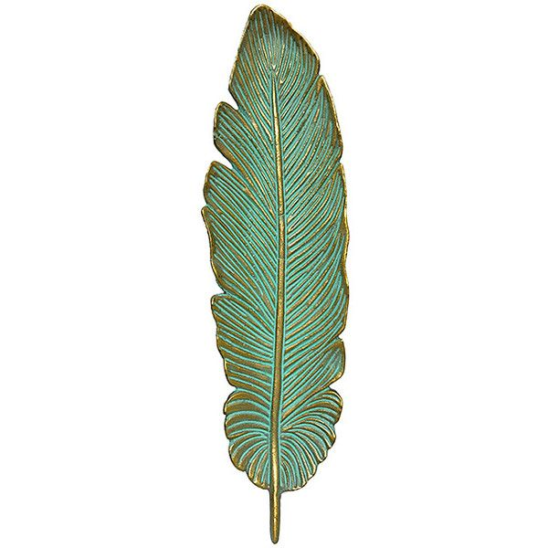 Wilco Cast Iron Feather 28 Liked On Polyvore Featuring Home Decor
