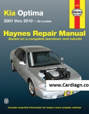 2001 2010 kia optima haynes repair manual cars pinterest kia kia optima haynes repair manual covering all optima models for with a haynes manual you can do it yourself from simple maintenance to basic repairs solutioingenieria Images