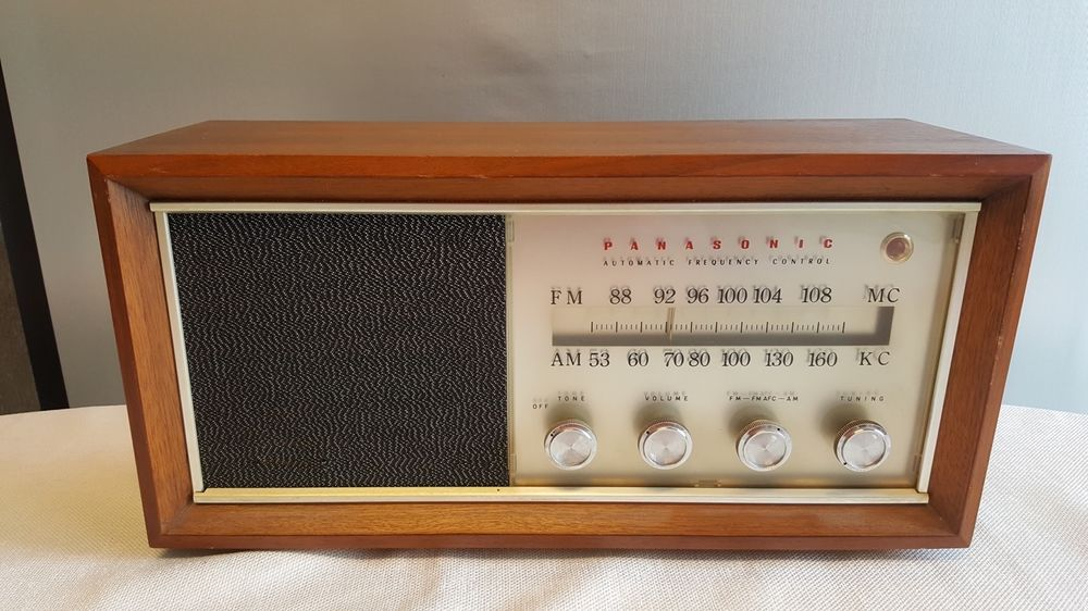 Panasonic Re 784a Automatic Frequency Control Am Fm Table Top