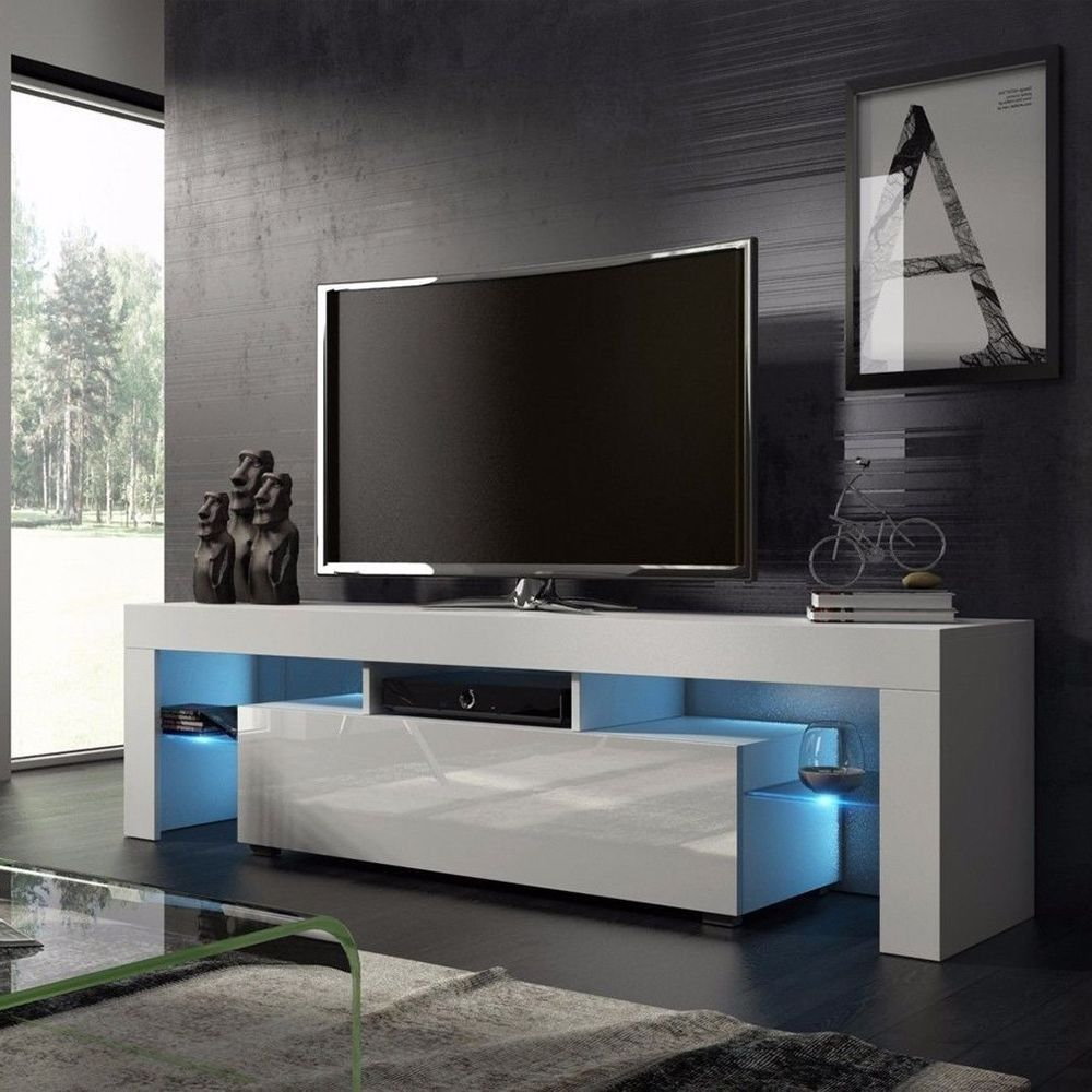 Modern Home Living Room Tv Cabinet Media Tv Stand Storage Furniture Glass Shelve Outad Contemporar Living Room Tv Cabinet Living Room Tv Stand Living Room Tv