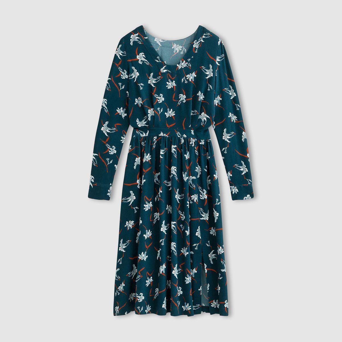 b2abb1be77 Robe longue imprimée laura clement Laura Clement