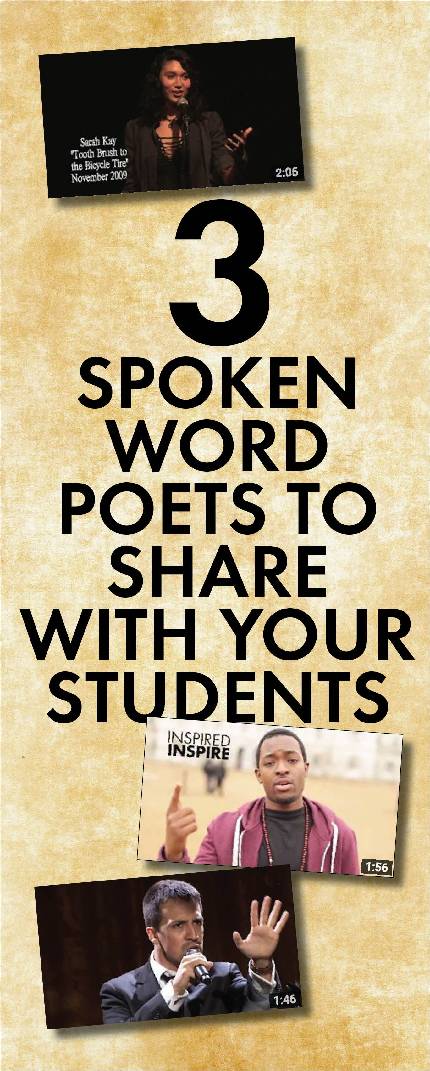 Bring Spoken Word Poetry Into Your Classroom Highschool