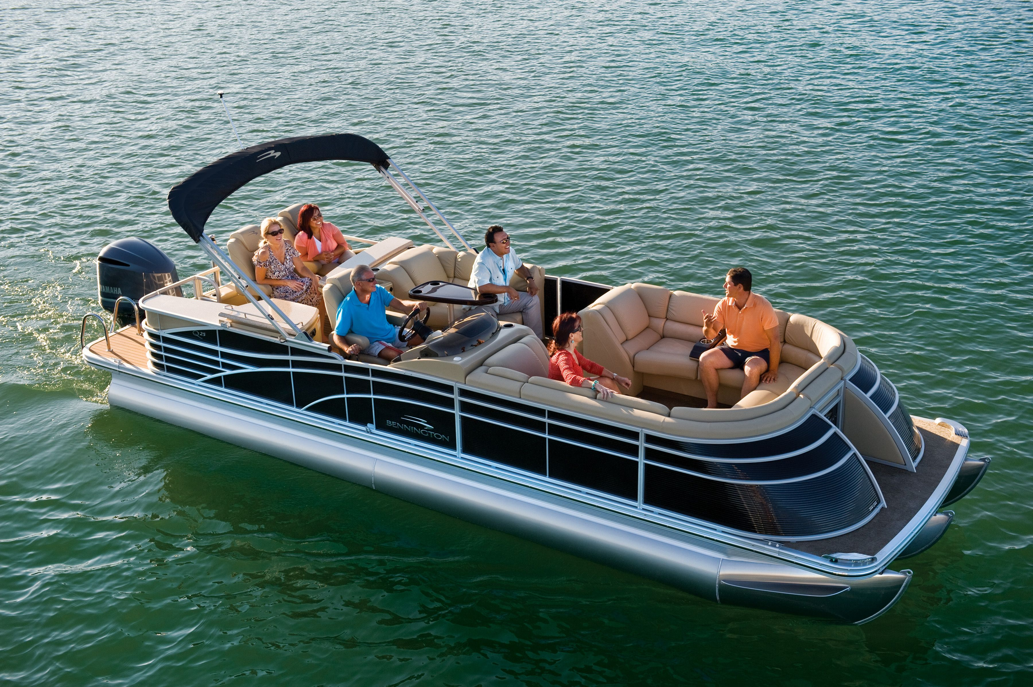 2013 Bennington 2550 Qbr Pontoon Looks Nice In Blue With Images