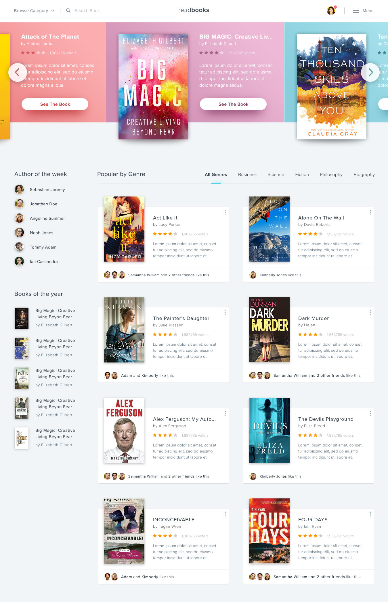Full preview web design pinterest user interface website and
