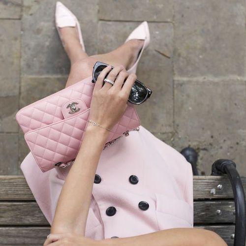 Tags mais populares para esta imagem incluem: chanel, fashion, pink e style