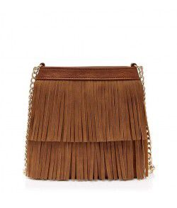 Fringed Duffle Bag from Forever New R449,00
