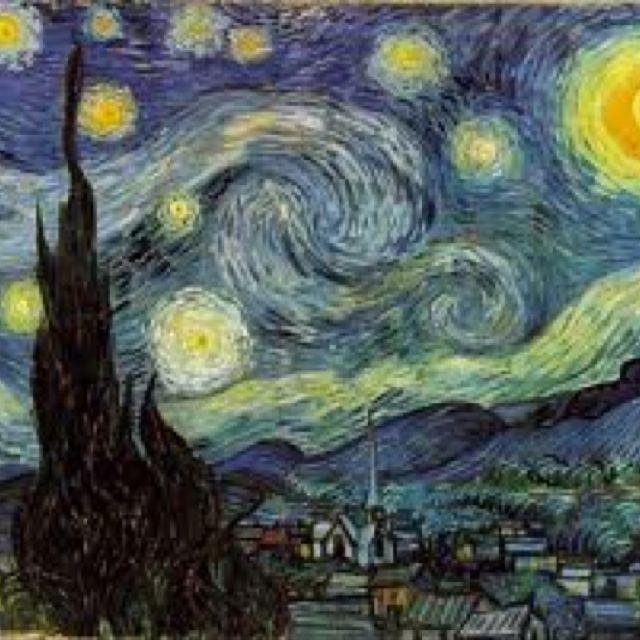 Nuit toile Cyprs Et Village Vu De La Chambre De Van Gogh  L