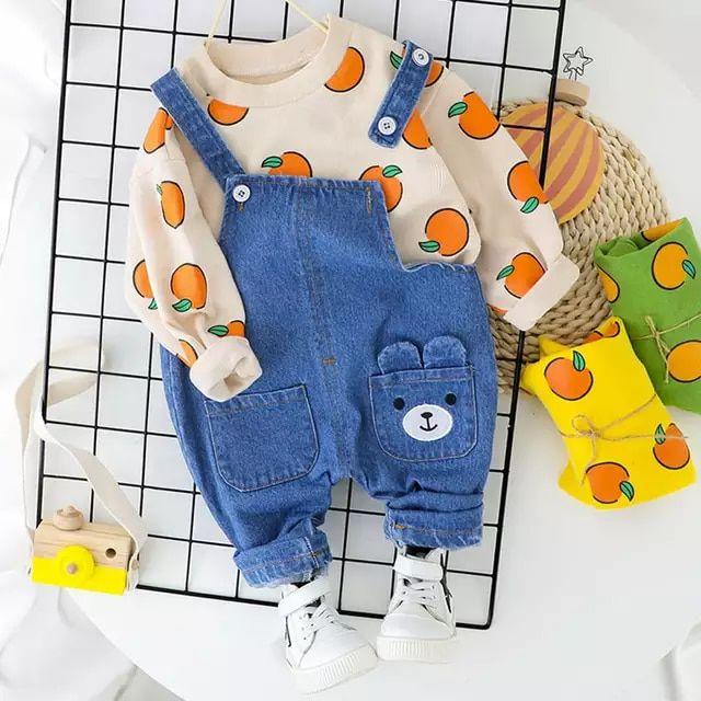 Carolilly diadema Conjunto de ropa para beb/é ni/ña de 3 piezas de manga larga con estampado de mam/á s Gires pantal/ón estampado floral 0-24 meses