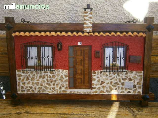 Cuadros de fachadas r sticas artesanales 113667711 for Imagenes de fachadas de casas rusticas mexicanas