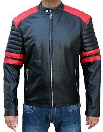Fight Club Retro Hybrid Mayhem Brad Pitt Black Bomber Jacket