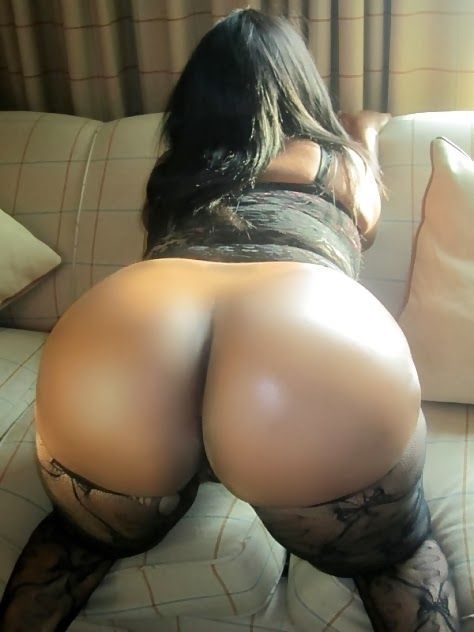 bent Black over ass woman