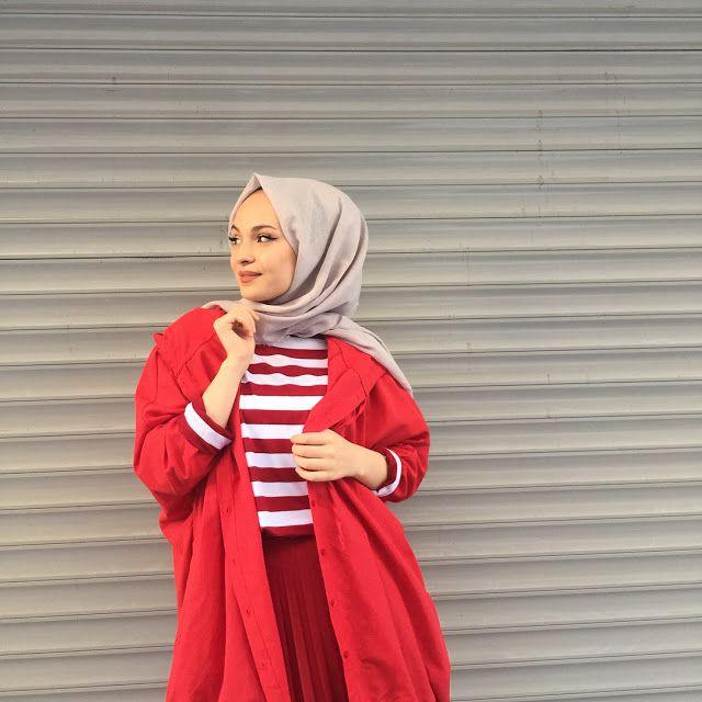 Week End Hijab Fashion Cute - Pemuja Wanita in 2020 ...