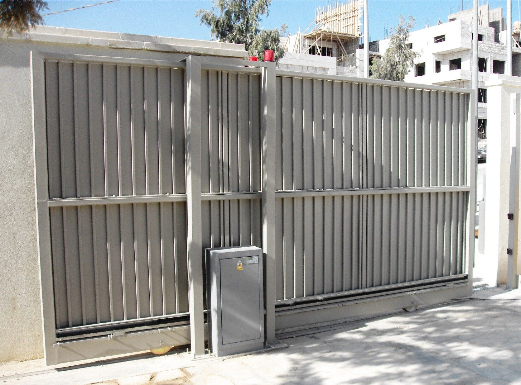 sliding gate installation by hurricane fence pany types of
