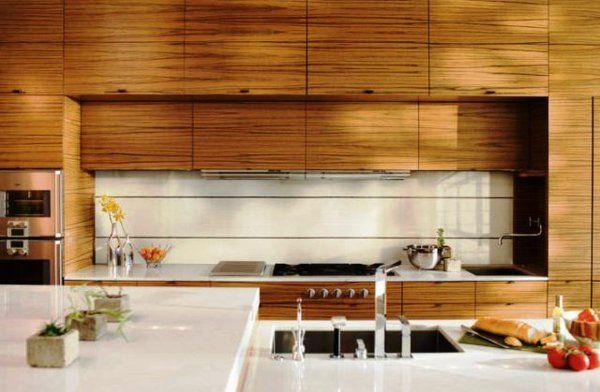 originelle Wandgestaltung mit Farbe wandfarben ideen Meine Küche - ideen wandgestaltung küche