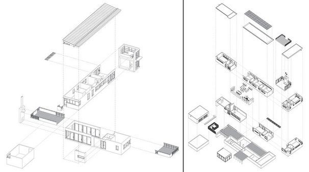 Res4 Modular Home Assembly Drawing