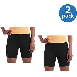 12b39853a801d $12 Walmart Online: Danskin Now Women's Bike Shorts (2 pack ...