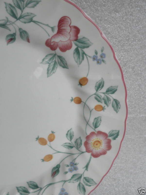 Churchill Staffordshire Uk Dinner Plate S Briar Rose 1990s Pattern 10 Retired Dinnerware Patterns Vintage Dinnerware Dinner Plates