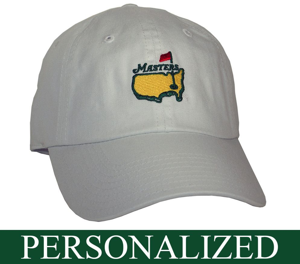 d397b0463 Personalized White Masters Hat - GreatGolfMemories.com | Masters ...